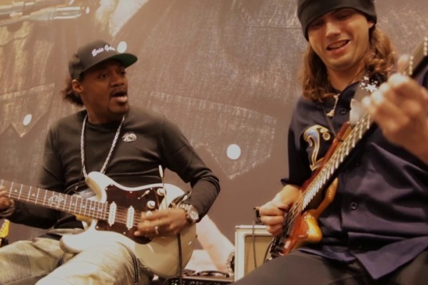 Eric Gales & Cody Wright Live at NAMM