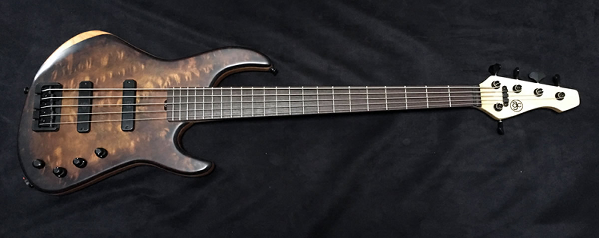 AC Guitars RetroB Bass 2-Pickup