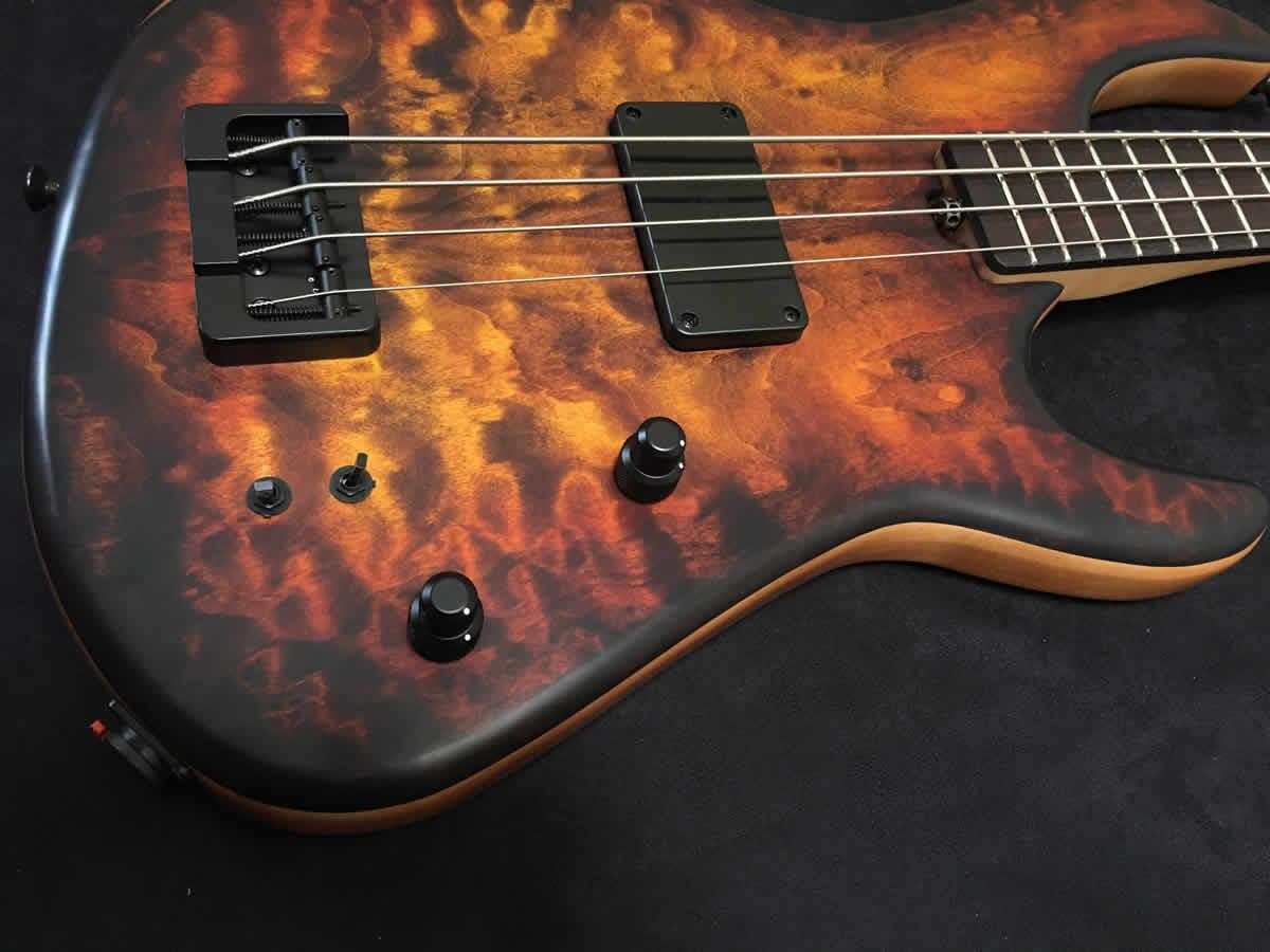 AC Guitars RetroB Bass Controls