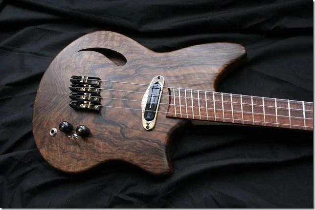 AJR Guitarmods Piccolo Bass Body