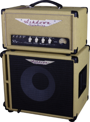 Ashdown Engineering 20th Anniversary Limited Edition CTM-30-Tweed Head and 112T-250-Tweed Cab