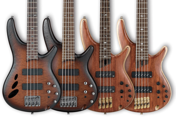 Ibanez Celebrates 30th Anniversary of SR Bass with Limited Edition Models