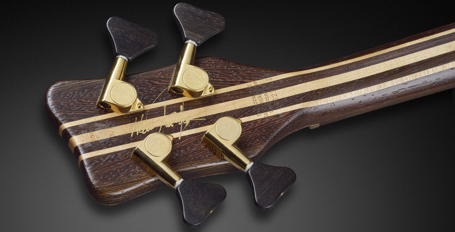 Warwick Thumb NT Limited Edition 2017 Bass Back of Headstock