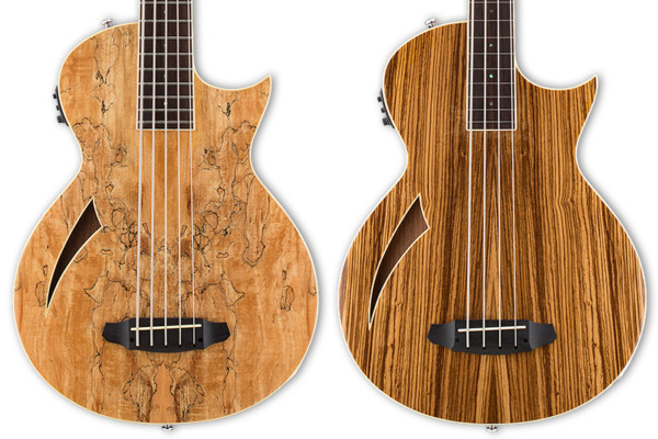 ESP Adds Fretless and 5-String Basses to LTD Thinline Series
