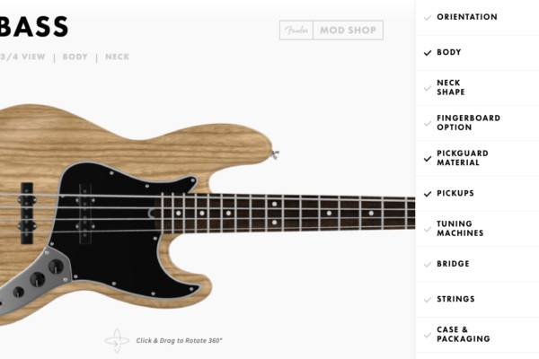 Fender Adds Options to Mod Shop Instruments