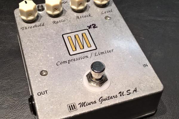 Miura Guitars Introduces the M2 Compressor/Limiter