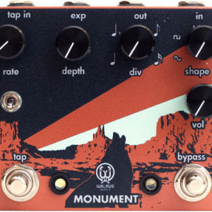 Walrus Audio Introduces Monument Harmonic Tap Tremolo