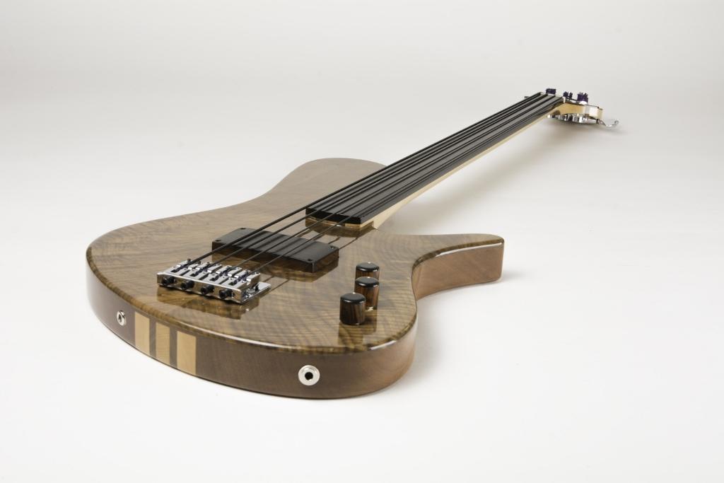 Frederiek de Vette's Singlecut Fretless Bass Longview 2