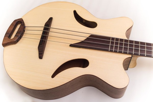 Bass of the Week: Helios Guitars Capsicum Acoustic Bass