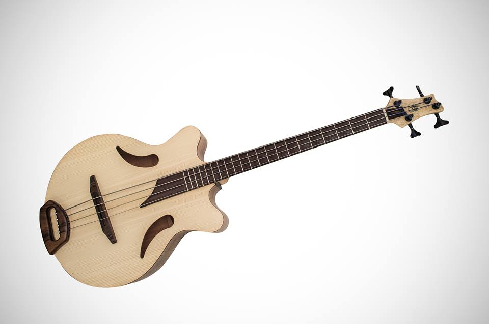 Helios Guitars Capsicum Acoustic Bass