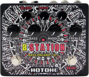 Hotone Audio B Station Bass Preamp/DI
