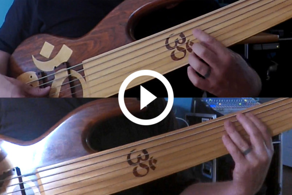 "Jason Everett: ""Caramel"" 7-string Fretless Bass Cover"