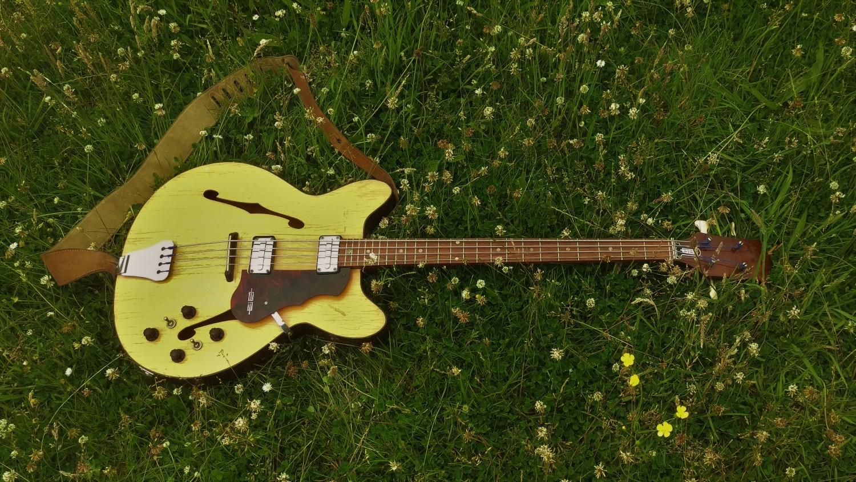 1964 Egmond Princess Bass full