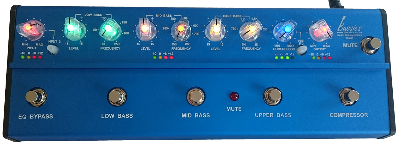 Bassics BPA-1 Analog Preamp