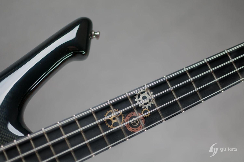GV Guitars NeoFang Steambass Gear Inlay