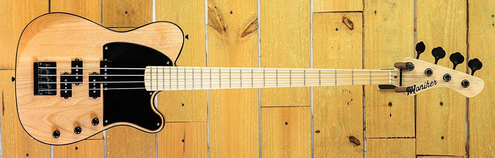 Moniker Guitars Natural Dixie Double P-Bass