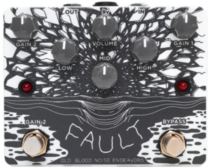Old Blood Noise Endeavours Fault Overdrive/Distortion Pedal