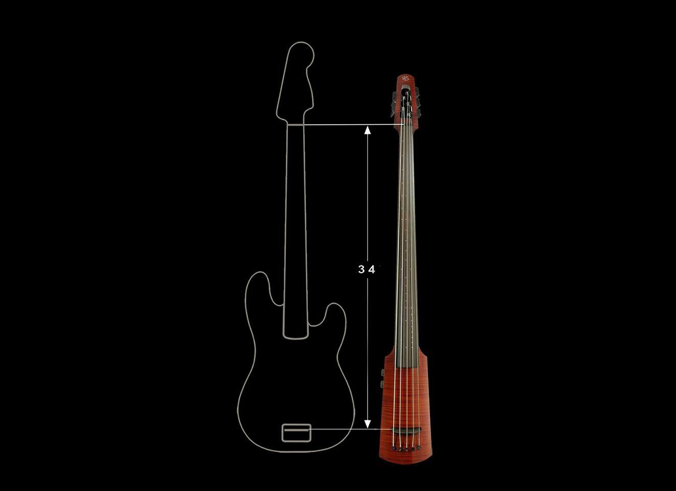 NS Design WAV Omni Bass Scale Comparison