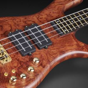 Bass of the Week: Justin Chancellor's Warwick Custom Shop Masterbuilt Streamer Stage II