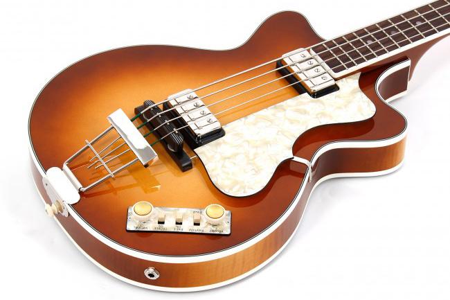 Hofner Club Bass 500/2 Double Cut Body