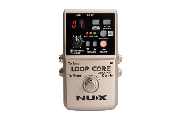 Nu-X Announces Loop Core Deluxe Pedal