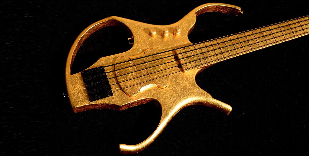 Paul Lairat Stega Gold Bass Body