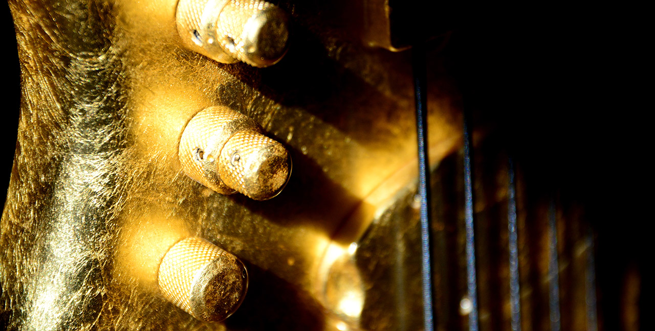 Paul Lairat Stega Gold Bass Knobs