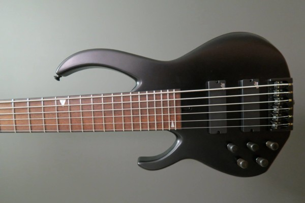 "Bass of the Week: Marc Chicoine Dominic ""Forest"" Lapointe 6-String Bass"