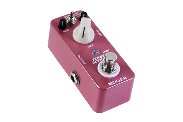 Mooer Updates Octave Line With Tender Octaver mkII Pedal