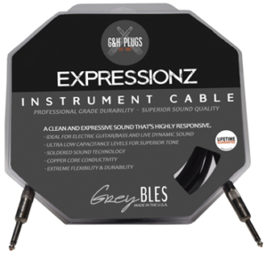 G&H Plugs GreyBLES Expressionz Cables