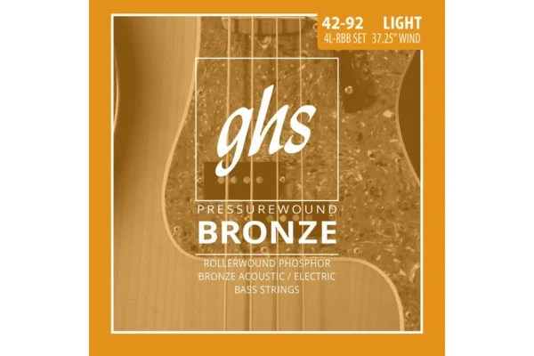 GHS Strings Announces Pressurewound Bronze Bass Strings
