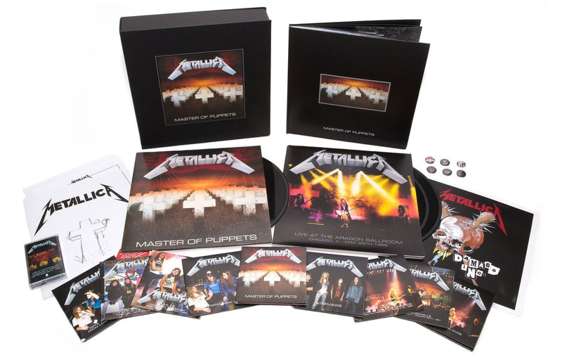 Metallica: Master of Puppets Deluxe Box Set