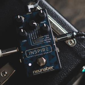 Neunaber Audio Effects Unveils the Inspire Tri-Chorus Plus Pedal