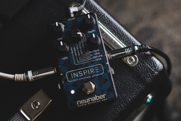 Neunaber Audio Effects Unveils the Inspire Tri-Chorus Plus Pedal