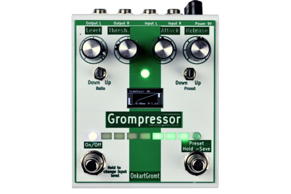 OnkartGromt Introduces the Grompressor Pedal