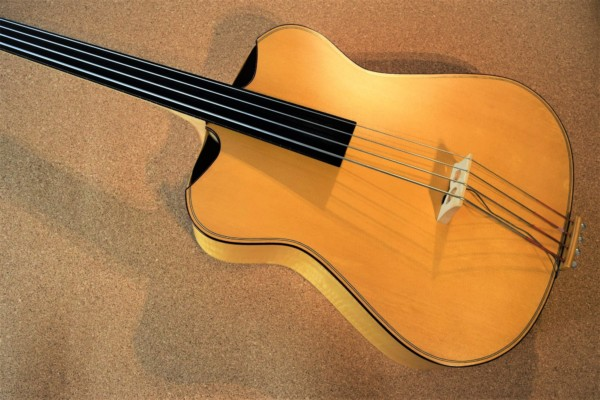 Bass of the Week: Safran Basses Iris Acoustic Archtop Bass