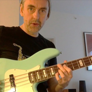 "Bass Transcription Analysis: ""I Start With The Blues"" Bob Mintzer Sax Solo, Part 1"