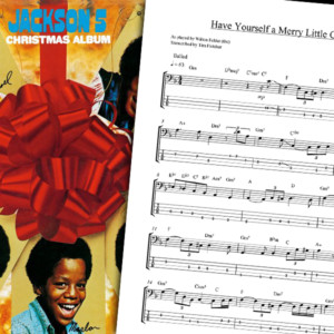 "Bass Transcription: The Jackson 5's ""Have Yourself A Merry Little Christmas"""