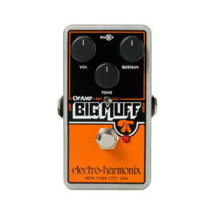 Electro-Harmonix Reissues the Op-Amp Big Muff Pi Pedal