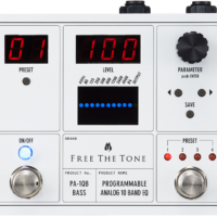 Free The Tone Announces the PA-1QB Programmable 10-Band EQ Pedal