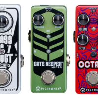 Pigtronix Introduces Trio of Micro Pedals