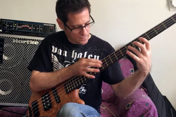 Brad Russell: Van Halen's Spanish Fly on Bass