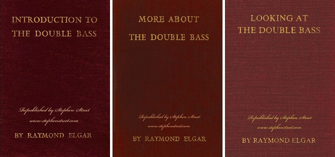 Raymond Elgar's Double Bass Books