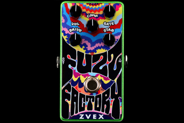 Z. Vex Effects Introduces Vertical Vexter Fuzz Factory Pedal