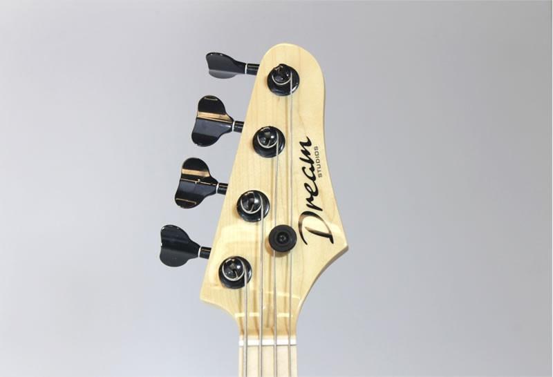 Dream Studios Voodoo Bass Headstock