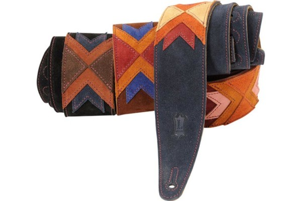 Levy's Leathers Releases Utopia Magnolia and Lawless Guitar Straps