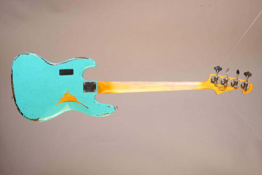 Moonshine Custom Guitars Rat Rod J Bass Back