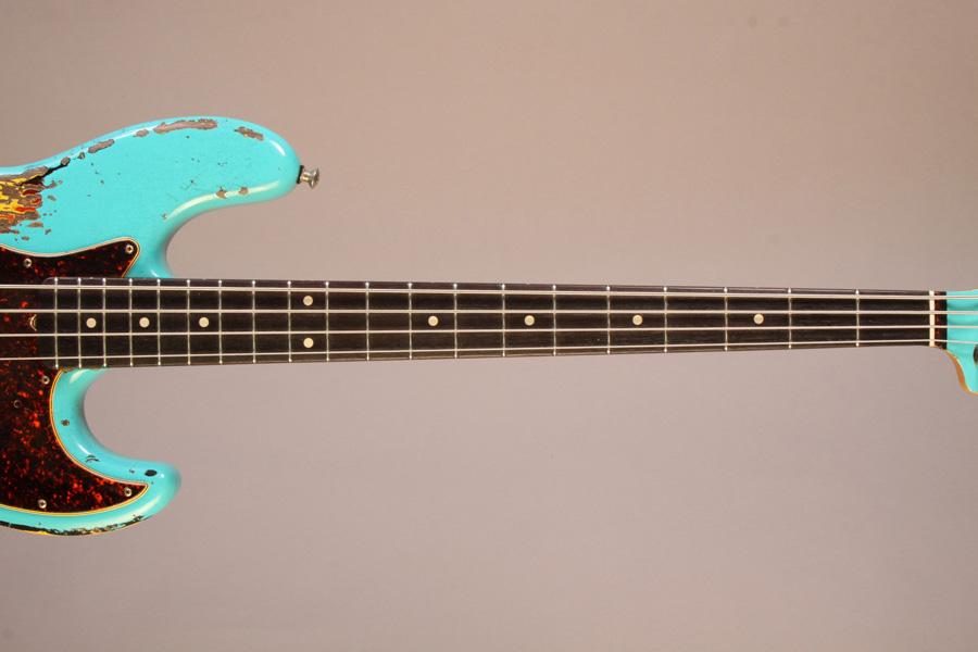 Moonshine Custom Guitars Rat Rod J Bass Neck