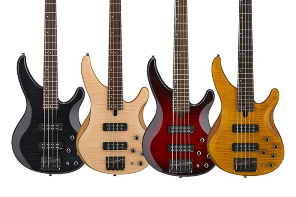 Yamaha Introduces Flame Maple Models To TRBX Series