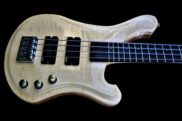 Bass of the Week: R. Low. Vaughn 34? Scale Four-String